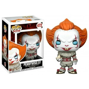 Funko POP Movies IT 472 Pennywise With Boat