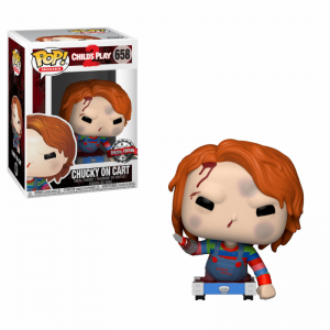 Funko POP Movies Child's Play 2 658 Chucky On Cart Exclusive