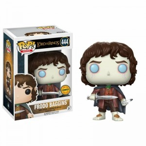 "Funko POP Movies Lord of The Rings 444 Frodo Baggins ""Chase"""