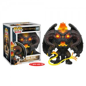 "Funko POP Movies Lord of The Rings 448 Balrog ""Over Size"""