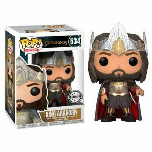 Funko POP Movies Lord of The Rings 534 King Aragorn Exclusive