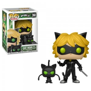Funko POP Animation Miraculous 360 Cat Noir With Plagg