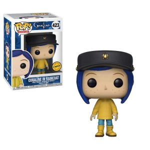 "Funko POP Animation Coraline 423 Coraline in Raincoat ""Chase"""