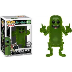 Funko POP Animation Rick and Morty 333 Pickle Rick Exclusive
