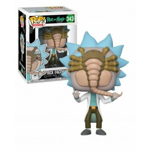 Funko POP Animation Rick and Morty 343 Rick (Facehugger)