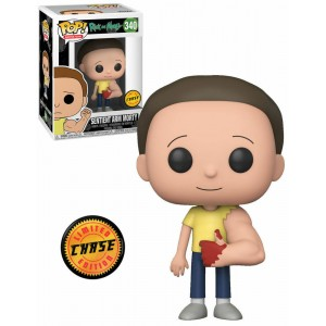 "Funko POP Animation Rick e Morty 340 Sentient Arm Morty ""Chase"""