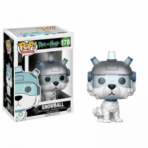 Funko POP Animation Rick e Morty 178 Snowball
