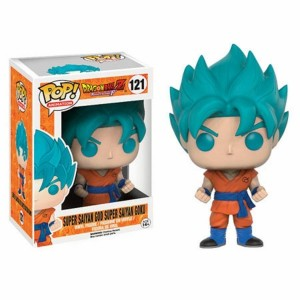 Funko POP Animation Dragonball Z Resurrection F 121 Super Saiyan God Super Saiyan Goku