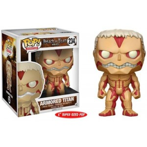"Funko POP Animation Attack Of Titan 234 Armored Titan ""Over Size"""
