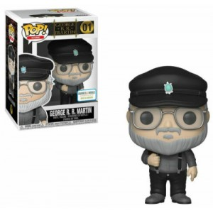 Funko POP Icons 01 George R.R. Martin Exclusive