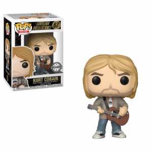 Funko POP Rocks 67 Kurt Cobain Exclusive