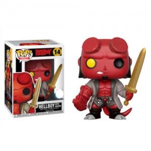 Funko POP Comics Hellboy 14 Hellboy With Sword Exclusive