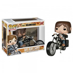 Funko POP Rides 08 The Walking Dead Daryl Dixon With Chopper