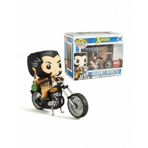 Funko POP Rides 26 Marvel X-Men Wolverine With Motorcycle
