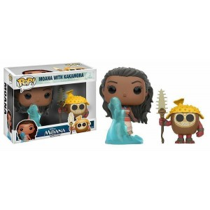 Funko POP Disney Moana With Kakamora 2-pack(Vetrinetta Danneggiata)