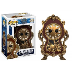 Funko POP Disney Beauty & Beast 245 Cogsworth(Movie)