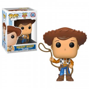 Funko POP Disney Toys Story 4 522 Sheriff Woody