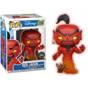 Funko POP Disney Aladdin 356 Red Jafar as Genie 'Chase'