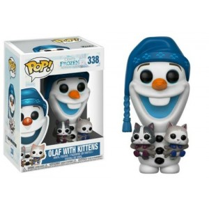 Funko POP Disney Frozen 338 Olaf with kittens