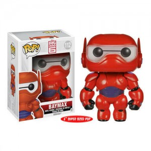 "Funko POP Disney Big Hero 6 112 Baymax ""Over Size"""
