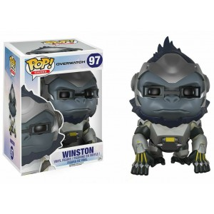 "Funko POP Games Overwatch 97 Winston ""Over Size"""