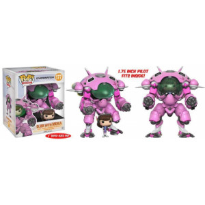 "Funko POP Games Overwatch 177 D.va With Meka ""Oversize"""