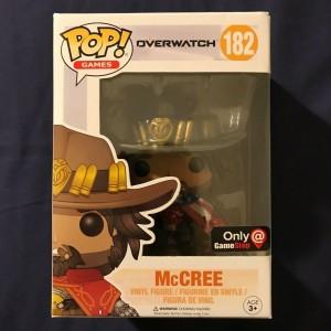 Funko POP Games Overwatch 182 McCree Exclusive