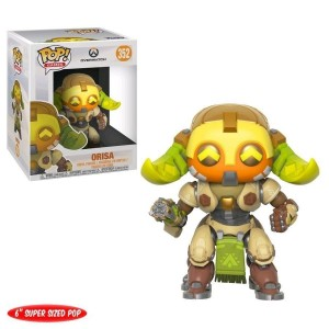 "Funko POP Games Overwatch 352 Orisa ""Over Size"""