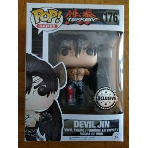Funko POP Games Tekken 176 Devil Jin Exclusive