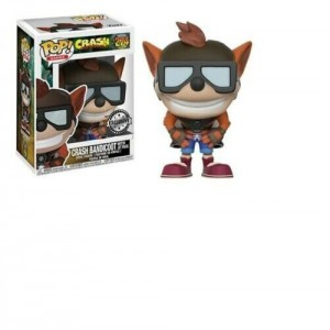 Funko POP Games Crash Bandicoot 274 Crash Bandicoot With Jet Pack Exclusive