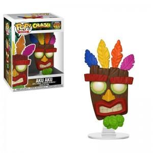 Funko POP Games Crash Bandicoot 420 Aku Aku