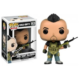 "Funko POP Games Call Of Duty: 143 John ""Soap"" MacTavish"