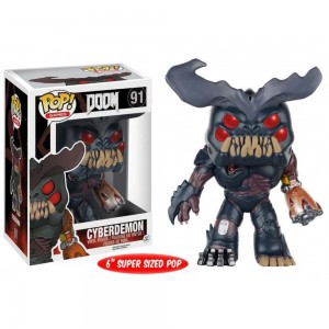 "Funko POP Games Doom 91 Cyberdemon ""Oversize"""