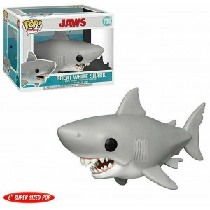 """Funko POP Movies Jaws 758 Great White Shark """"Over Size"""""""