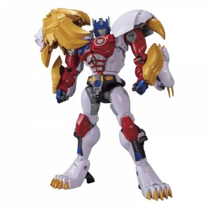 Takaratomy Transformers Masterpiece MP-48 Beast Wars Lio Convoy + Collector Pins