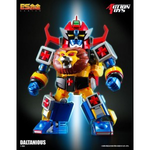 Action Toys ES Gokin ES-21 Mirai Robot Daltanious