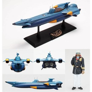 "SGM-28 Nautilus from ""Nadia"" Underwater Version(Blu Color)"