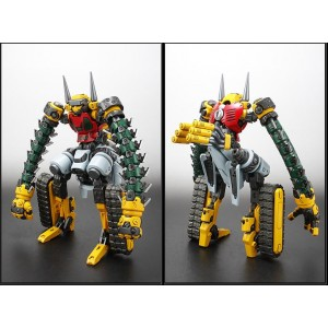 EXG-03RG Getter 3 & Getmachine Bear Repaint Version