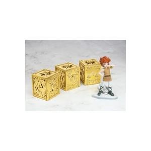 Gold Cloth Box Appendix Tamashii Web Vol.3:  Sagittario, Scorpione, Bilancia & Kiki Mu Apprentice