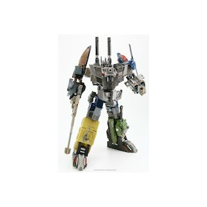 Fansproject Crossfire 02SP Explorer & Munitioner + 02EX Quake + SF-01 Upgrade Kit + Energon Onsluaght, Brawl, Vortex(Usa