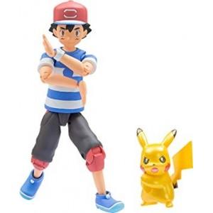 Takaratomy Pokemon Moncolle Ash & Pikachu Set