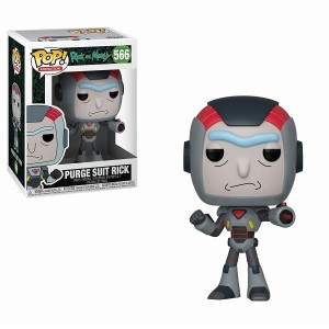 Funko POP Animation Rick and Morty 566 Purge Suit Rick