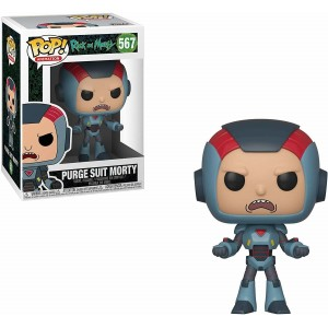 Funko POP Animation Rick and Morty 567 Purge Suit Morty