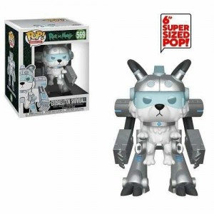 Funko POP Animation Rick and Morty 569 Exoskeleton Snowball 'Over Size'
