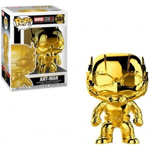 "Funko POP Marvel Studios 10 384 Ant-Man ""Chrome"""