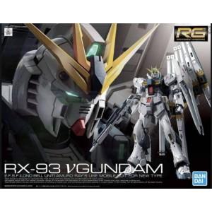 Bandai Gunpla Real Grande RG 1/144 Nu Gundam