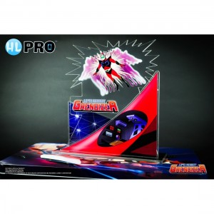 HL PRO GOLDRAKE GRENDIZER ACTARUS ACRYLIC DIORAMA FIGURE COLLECTION HIGH DREAM