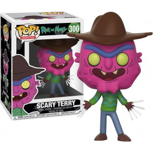 FUNKO POP Animation Rick & Morty 300 Scary Terry