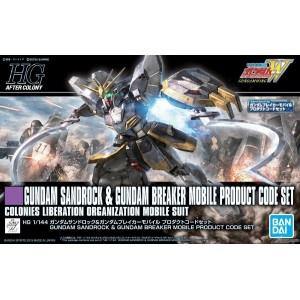 Bandai Gunpla High Grade HGAC 1/144 Gundam Sandrock