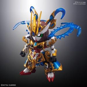 Bandai Gunpla Super Deformed SD Sangoku Sokets Sun Shangxiang Strike Rouge